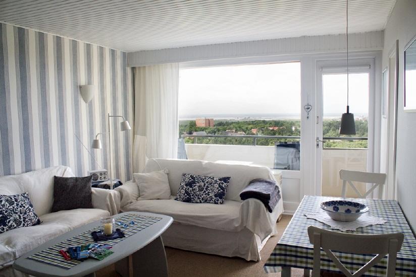 st. peter-ording ferienwohnung traumweiß mit meeresblick wohnzimmer4