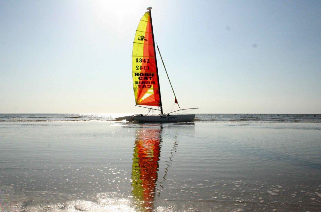 St.Peter-Ording Wassersport Segeln-Strand-urlaub preise